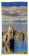 Mono Lake Spires Bath Towel