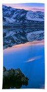 Mono Lake Twilight Bath Towel