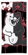 Monokuma Bath Towel