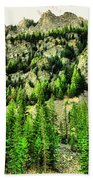 Montana Mountains In Autumn  Bath Towel