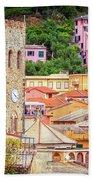 Monterosso Al Mare Cinque Terre Italy Bath Towel
