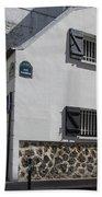 Montmarte Paris Rue Durantin Bath Towel