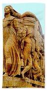 Monument Aux Morts 9 Bath Towel