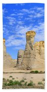 Monument Rocks In Kansas 2 Bath Towel