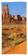 Monument Valley,arizona Bath Towel
