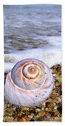 Moon Snail Bath Towel