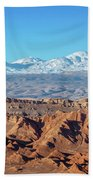 Moon Valley Atacama Desert Bath Towel