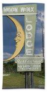 Moon Winx Lodge Sign Bath Towel