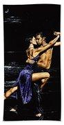 Moonlight Tango Bath Towel