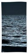 Moonlight Waves Bath Towel