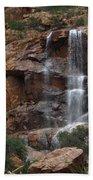 Moonlit Waterfall Bath Towel