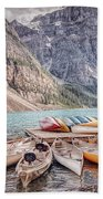 Moraine Lake Transportation  Bath Towel