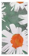 More Bunch Of Daisies Bath Towel