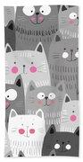 More Cats Bath Towel