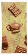 Morning Breakfast Chocolate Tea Set  Hand Towel