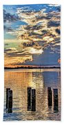 Morning Colors By H H Photography Of Florida Bath Towel