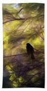 Morning Forest Light Hand Towel