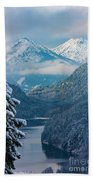 Morning In Bavaria Hand Towel