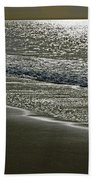 Morning Light On Sandown Beach Bath Towel