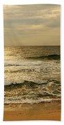 Morning On The Beach - Jersey Shore Bath Towel
