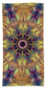 10300 Morning Sky Kaleidoscope 01a Bath Towel