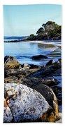 Morning Sun - Fishers Point, Tasmania Bath Towel