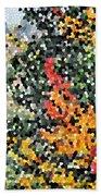 Mosaic Foliage Bath Towel