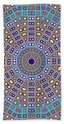 Mosaic Kaleidoscope  Bath Towel