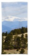 Mosquito Range Mountains From Bald Mountain Colorado Bath Towel