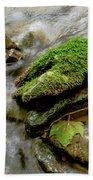 Moss Covered Rock Bath Towel