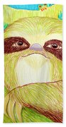 Mossy Sloth Hand Towel