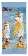 Mother And Daughter Bath Towel