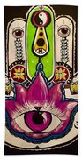 Mother Nature Hamsa Bath Towel