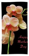 Mothers Day Card 8 Bath Towel
