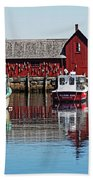 Motif #1, Rockport Ma, 1 Bath Towel