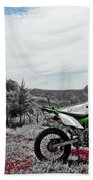 Motocross Bath Towel