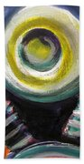 Motorcycle Abstract Engine 2 Bath Towel