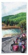 Motorcycle Ride Bath Towel