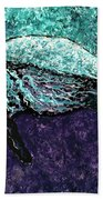 Mottled Sea Turtle  Bath Towel