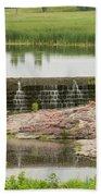 Mound Lake Dam 2 Bath Towel