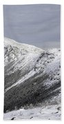 Mount Lincoln From The Appalachain Trail - White Mountains Nh Usa  Bath Towel