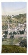 Mount Of Olives, C1900 Hand Towel