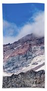 Mount Rainier Closeup Bath Towel