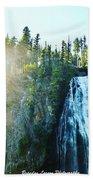 Mount Rainier National Park Bath Towel