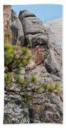 Mount Rushmore George Washington Landscape Bath Towel
