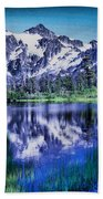 Mount Shuksan And Picture Lake Bath Towel