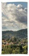 Mount Talbert In Happy Valley Oregon Hand Towel