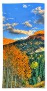 Mountain Beauty Of Fall Bath Towel
