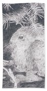 Mountain Cottontail Bath Towel