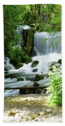 Mountain River Spring Bath Towel
